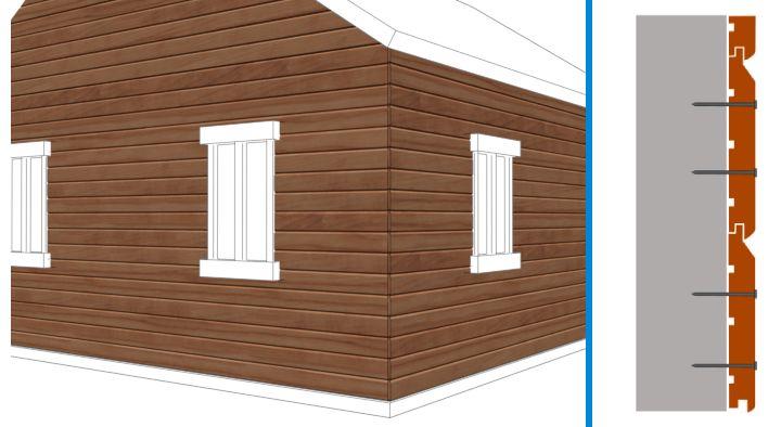 choisir un bardage castorama. Black Bedroom Furniture Sets. Home Design Ideas