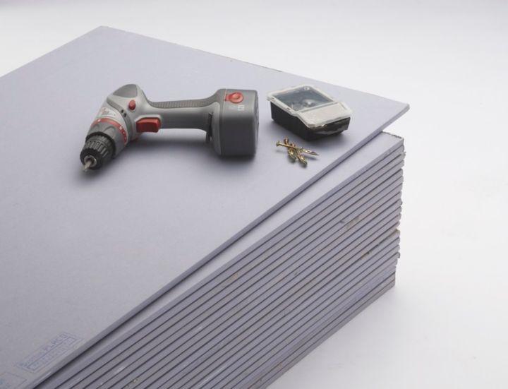 La plaque de plâtre