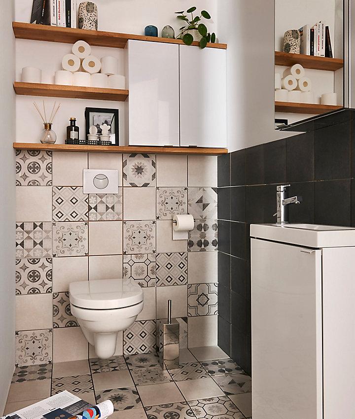 quel revtement pour les murs de la salle de bains