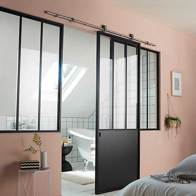 porte coulissante style verriere o trouver une porte coulissante atelier style verri re verri. Black Bedroom Furniture Sets. Home Design Ideas