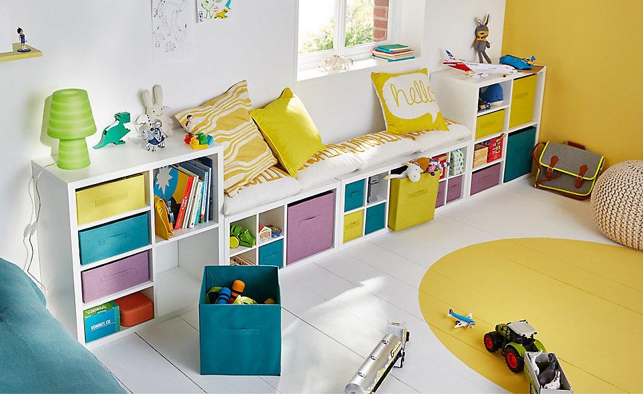 Un coin enfant bien organisé | Castorama