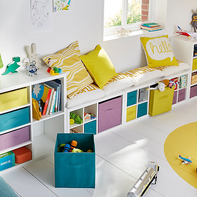 Un Coin Enfant Bien Organisé Castorama - Plinthe carrelage et tapis de chambre pour bebe