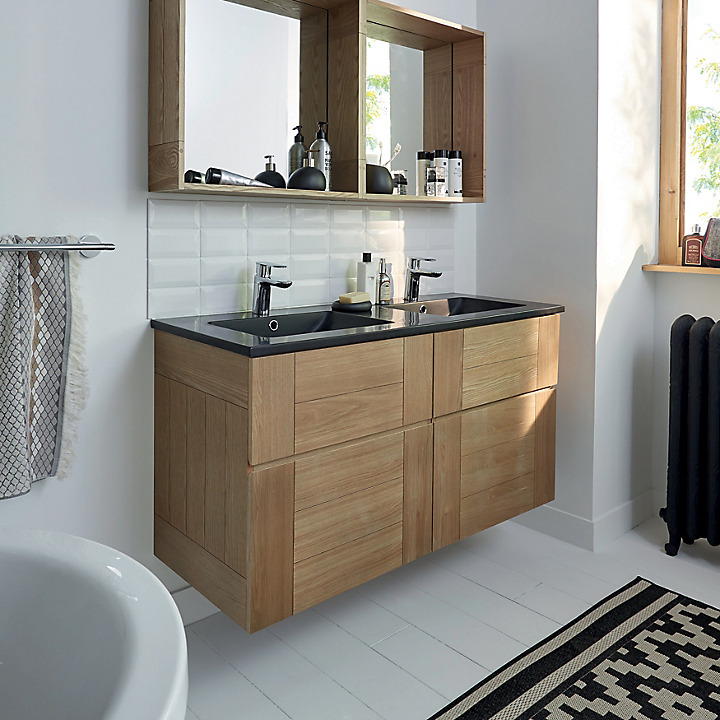 Meubles de salle de bains Vague | Castorama