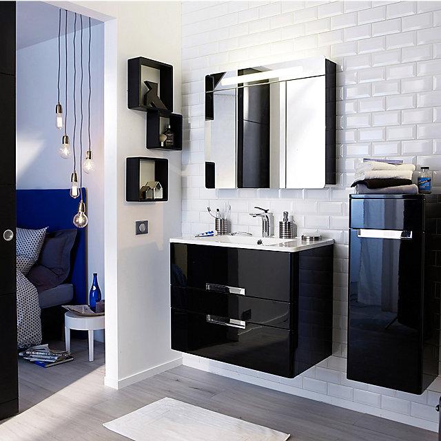 le meilleur de meuble salle de bain rouge castorama galerie. Black Bedroom Furniture Sets. Home Design Ideas