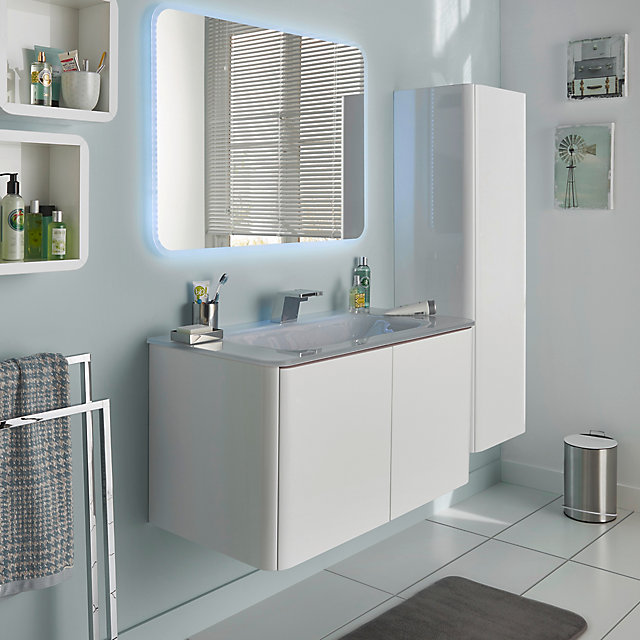 meubles de salle de bains ceylan castorama. Black Bedroom Furniture Sets. Home Design Ideas