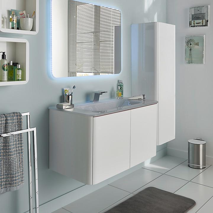 meubles de salle de bains pamili castorama. Black Bedroom Furniture Sets. Home Design Ideas