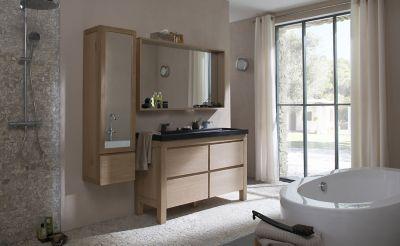 meuble salle de bain castorama harmon