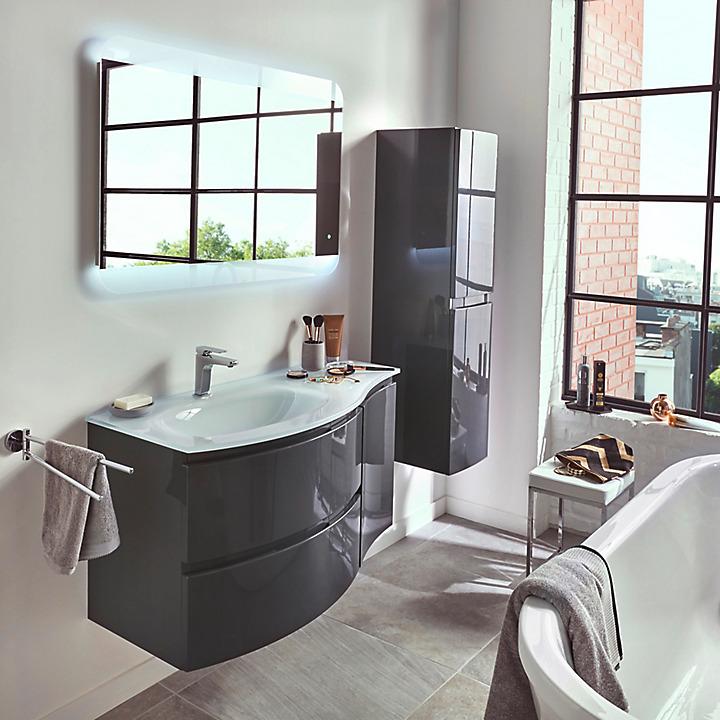 Meubles de salle de bains pamili castorama for Meubles s de bains castorama