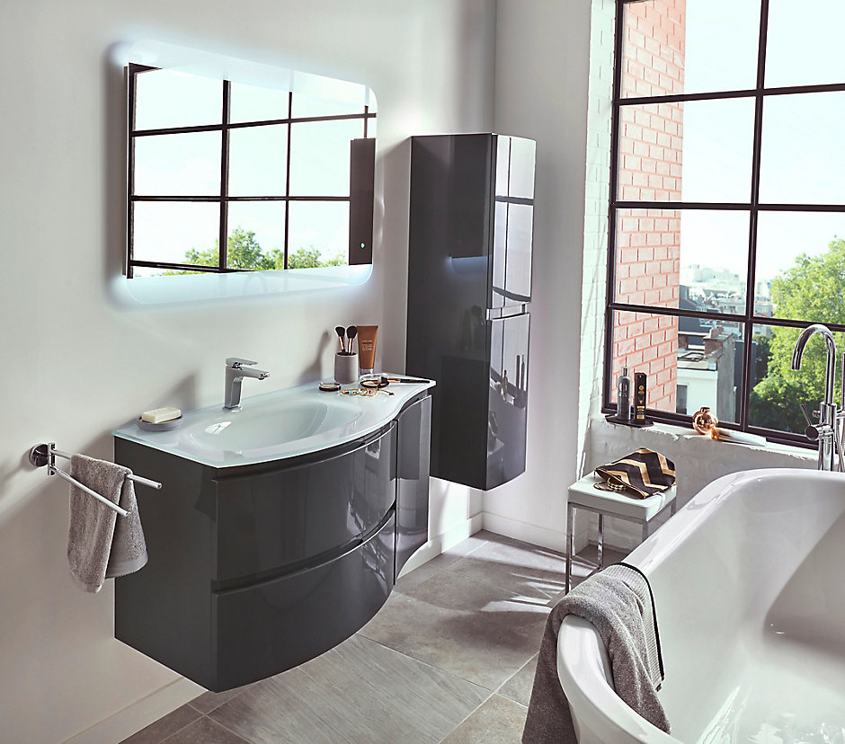 Awesome meuble salle de bain castorama contemporary - Meuble wc castorama ...