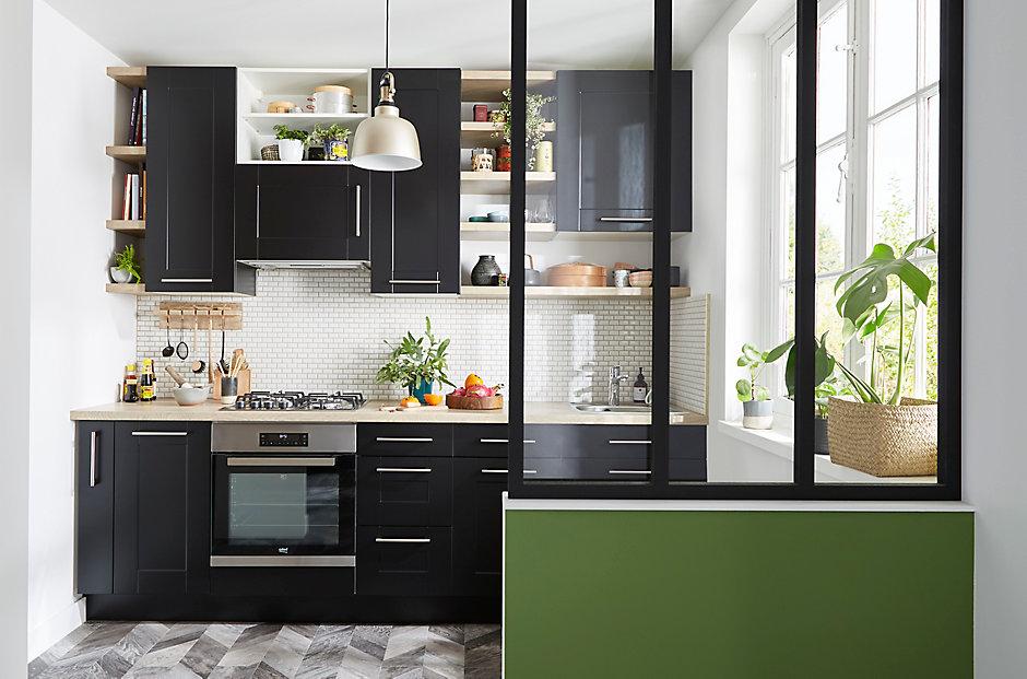Les meubles de cuisine cooke lewis kadral castorama Meuble cuisine castorama