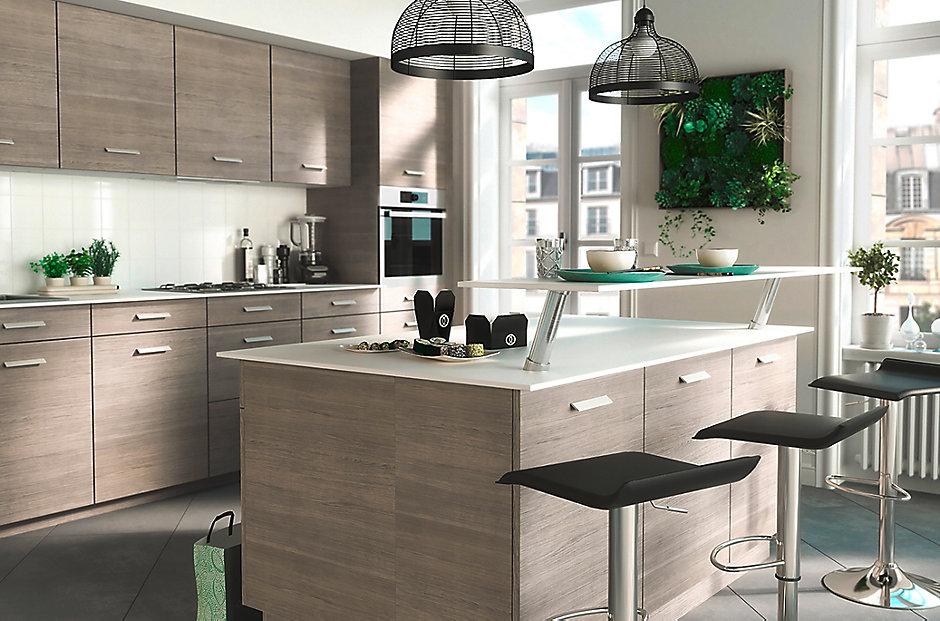 Les meubles de cuisine COOKE & LEWIS Unik | Castorama