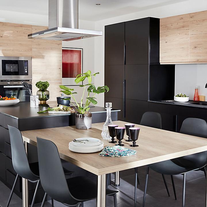 les meubles de cuisine cooke lewis fog castorama. Black Bedroom Furniture Sets. Home Design Ideas