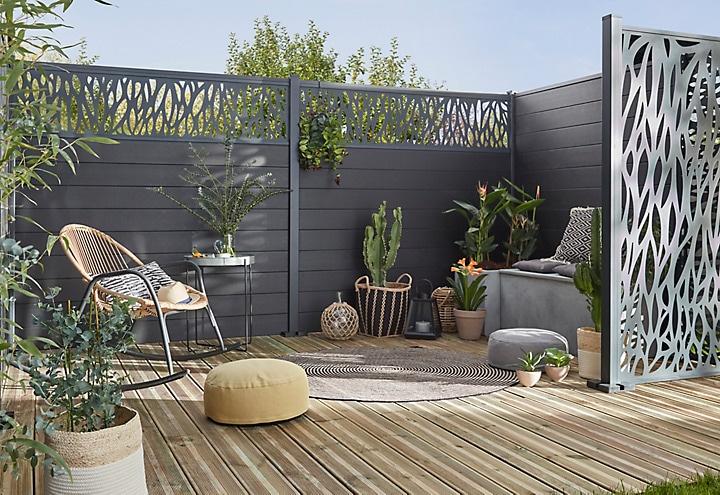 claustra de jardin. Black Bedroom Furniture Sets. Home Design Ideas
