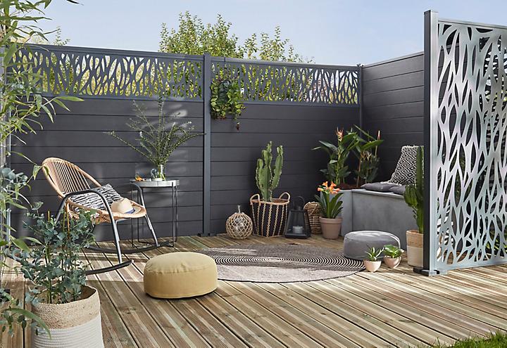cl ture panneau grillage brise vue castorama. Black Bedroom Furniture Sets. Home Design Ideas