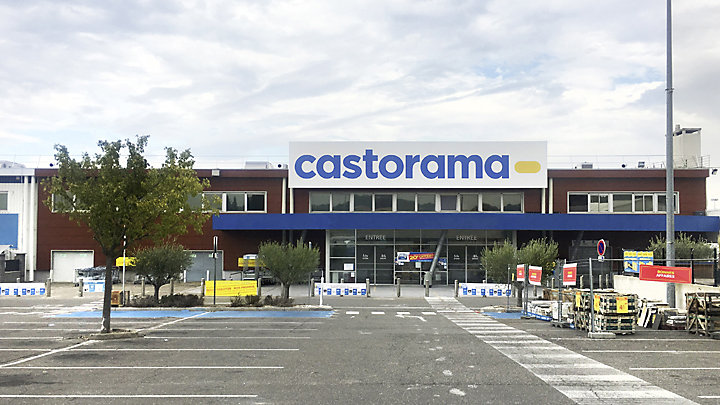 Magasin castorama plan de campagne castorama for Garage les milles