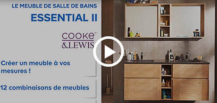 Meuble Salle De Bain Essential.Concept Essential 2 Castorama
