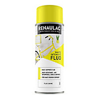 Aérosol multi-supports int/ext. fluo jaune mat 400ml