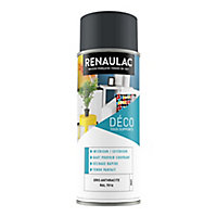 Aérosol multi-supports int/ext. gris anthracite mat 400ml