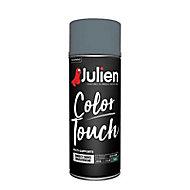 Aérosol multi-supports Julien Color Touch gris anthracite satin 400ml
