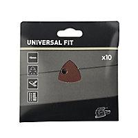 Abrasif pour ponceuse delta Universal 93 mm, 10 pièces