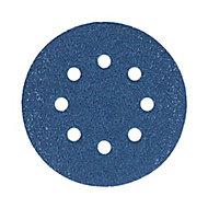 Abrasif pour ponceuse excentrique Norton ø 125 mm, Grain 80 - 5 pièces