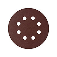 Abrasif pour ponceuse excentrique Universal ø 125 mm, Grain 180 - 5 pièces