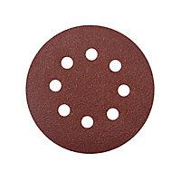 Abrasif pour ponceuse excentrique Universal ø 125 mm, Grain 80 - 5 pièces