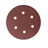Abrasif pour ponceuse excentrique Universal ø 150 mm, Grain 180 - 5 pièces