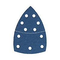 Abrasif pour ponceuse triangulaire Norton 152 x 102 mm, Grain 80 - 5 pièces