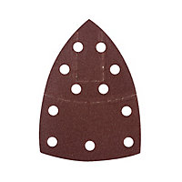 Abrasif pour ponceuse triangulaire Universal 150 x 100 mm, assortiment - 10 pièces