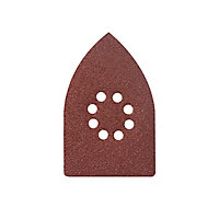 Abrasif pour ponceuse triangulaire Universal 175 x 105 mm, assortiment - 10 pièces