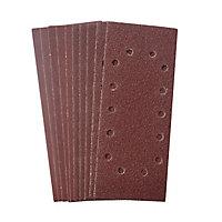 Abrasif pour ponceuse vibrante Universal 1/2 115 x 280 mm, assortiment - 10 pièces