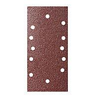 Abrasif pour ponceuse vibrante Universal 1/3 185 x 93 mm, Grain 40 - 5 feuilles