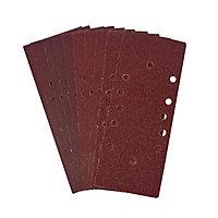 Abrasif pour ponceuse vibrante Universal 1/3 93 x 230 mm, Assortiment - 10 pièces