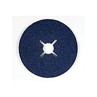 Abrasif zirco Ø125 mm Mac Allister - Grain 36, 3 pièces