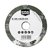 Abrasif zirco Ø125 mm Mac Allister - Grain 60, 3 pièces