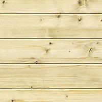 Abri de jardin bois Blooma Belaia, 9,3 m² ép.28 mm
