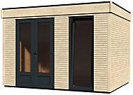 Abri de jardin bois Decor Home, 10,91 m²
