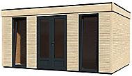 Abri de jardin bois Decor Home, 18,14 m²