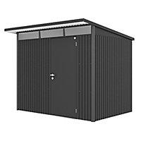 Abri de jardin métal Biohort Avantgarde L, 4,33 m² ép.0,5 mm