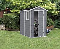 Abri de jardin résine Keter Basic Manor 46, 2,5 m² ép.16 mm