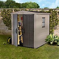 Abri de jardin résine Keter Factor 66, 3,48 m² ép.16 mm