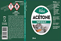Acétone Phebus 250ml