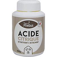 Acide citrique Phebus 500g