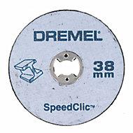 Adaptateur Dremel SpeedClic + 2 disques