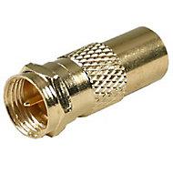Adaptateur Femelle / Mâle ø9,52 mm connectique Optex, Or