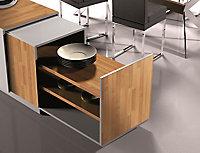 Adhésif décoratif d-c-fix® bois Billot de boucher 2m x 0.45m