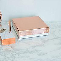 Adhésif décoratif d-c-fix® métal brillant rose doré 1.5m x 0.45m