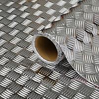 Adhésif décoratif d-c-fix® métal damier Riffelblech 2m x 0.675m