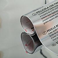 Adhésif décoratif d-c-fix® métal Effet miroir argent 1.5m x 0.45m